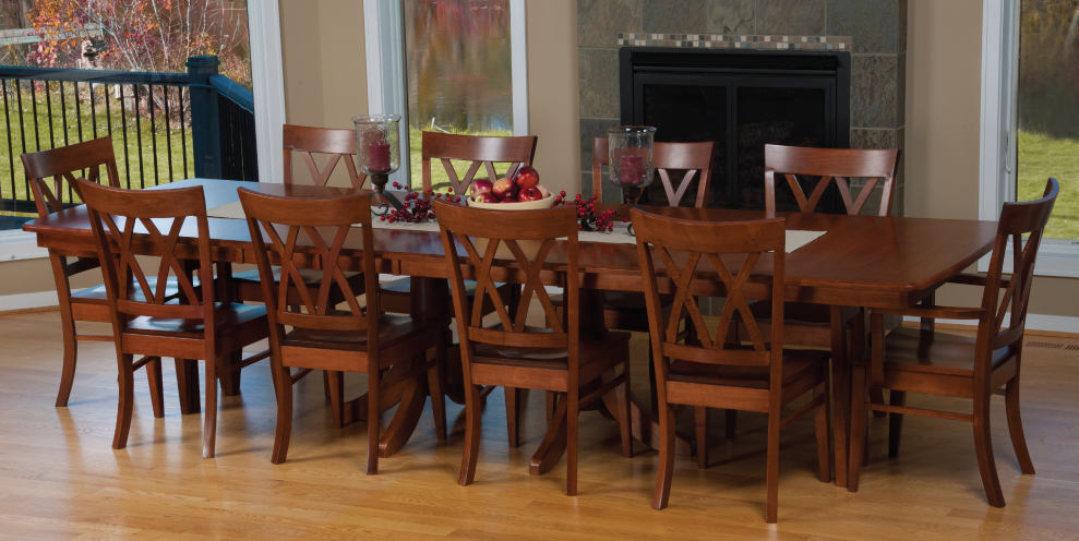 Good Selecting The Right Amish Kitchen Table Design