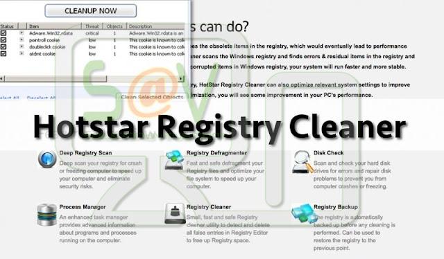 Hotstar Registry Cleaner