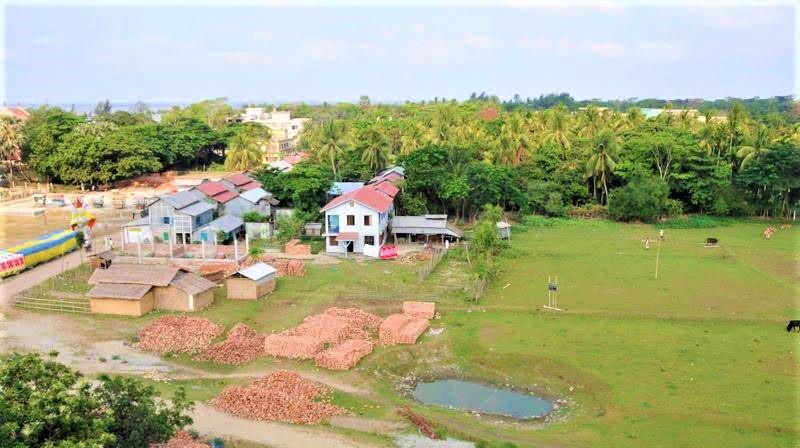 Rakhain village/polli