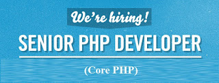 Sr. PHP Developer (Core PHP)