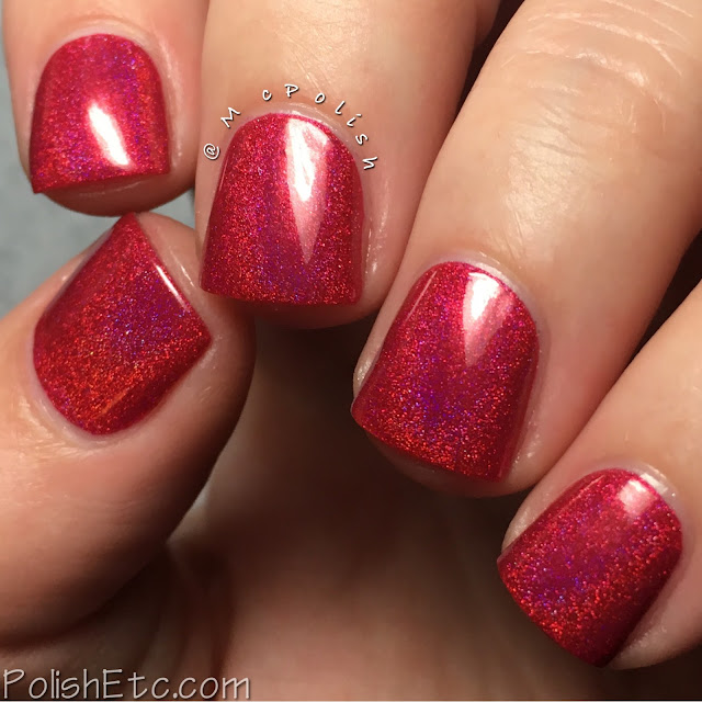 KBShimmer - Winter 2016 Collection - McPolish - Get to the Poinsettia