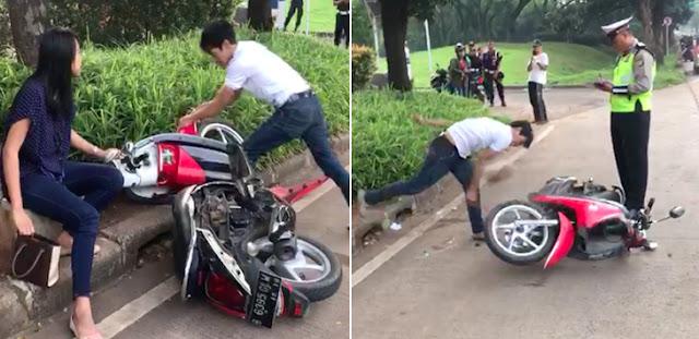 Anggota Polisi Yang Menonton Pengrusakan Motor Di Tangsel Harus Diberi Sanksi