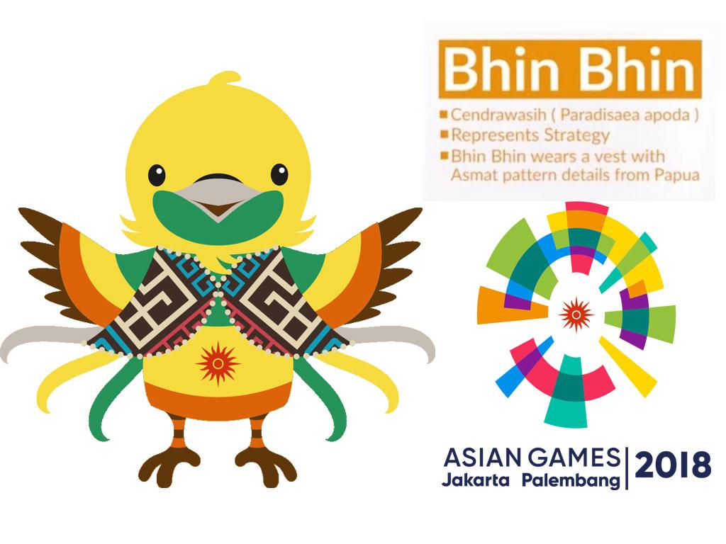 Lucunya Maskot Asian Games 2018 Bisa Menemani Para Jomblo
