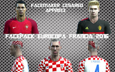 New Facepack EUROCOPA Francia 2016