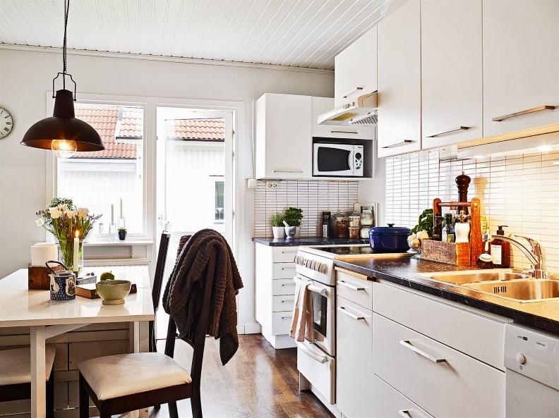 decoración nórdica cocina