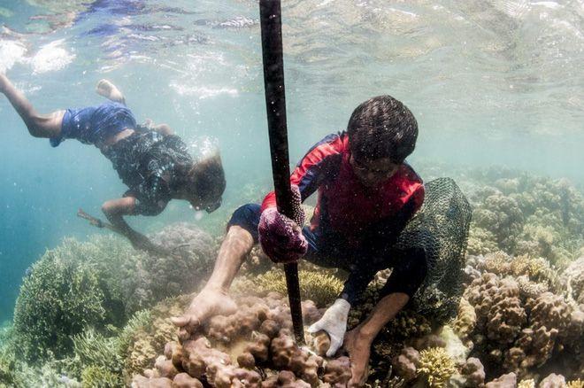Nín thở 13 phút dưới độ sâu 60m không cần bình dưỡng khí