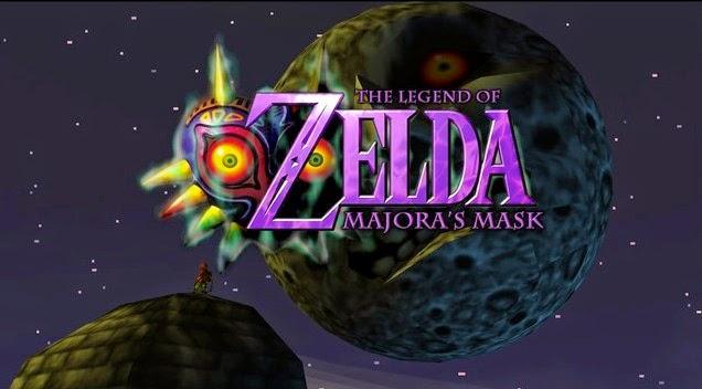 Image result for majora's mask title screen