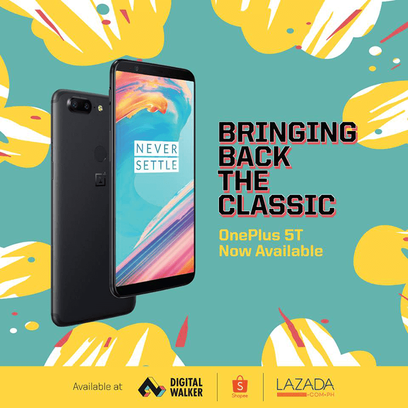 OnePlus 5T with 8GB RAM/128GB ROM is back at Digital Walker!