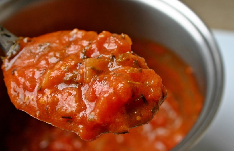 Ghanaian red-red stew