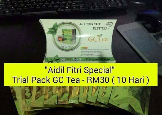 Promosi Aidilfitri GC Tea dan Nano Centa Rashwealth 2015
