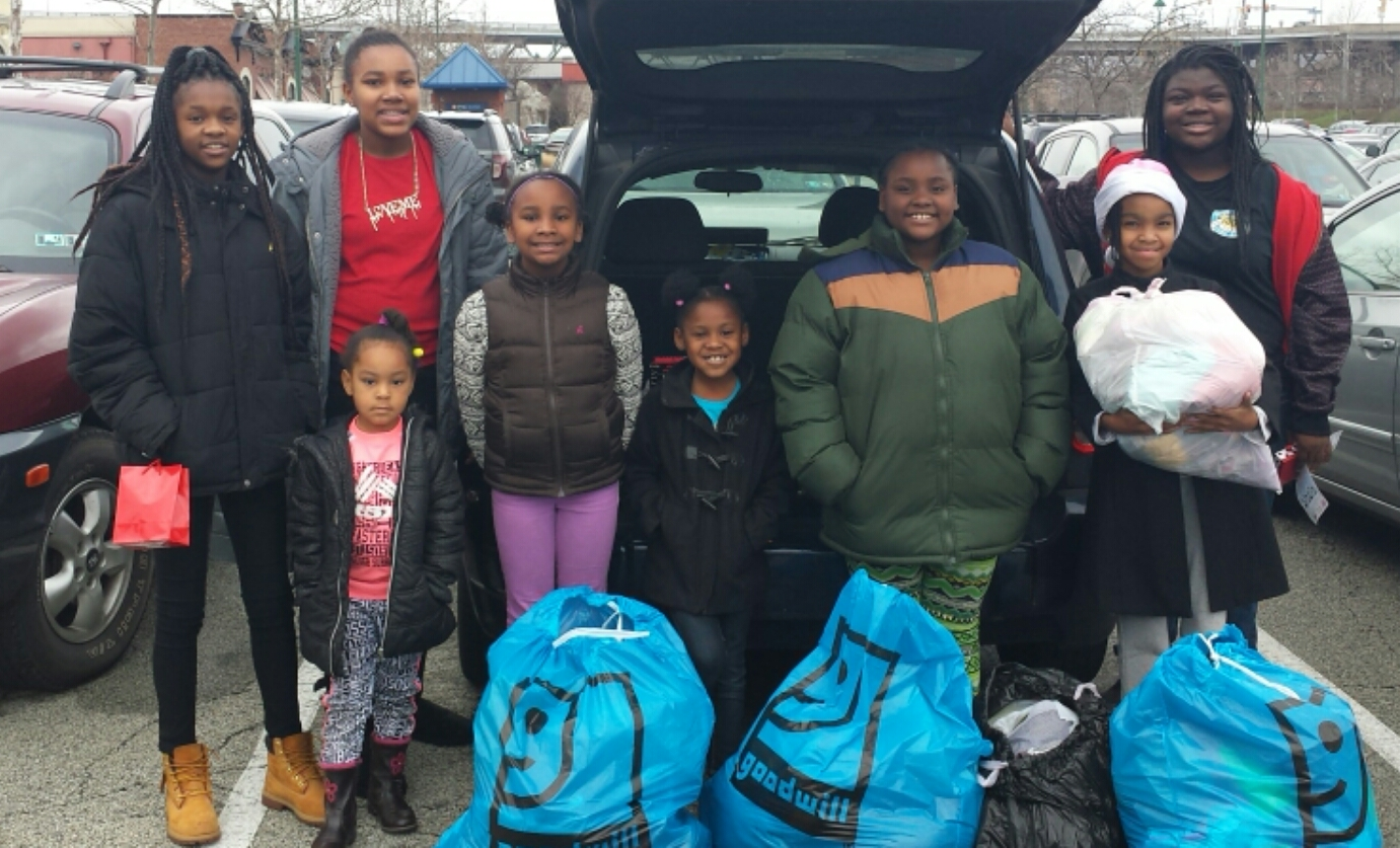 Girl scouts western pennsylvania give a little love by collecting gswpa girl scouts collected nearly 30000 pounds of donations during last years give a little love campaign shown here is penn wood hills troop 52570 publicscrutiny Gallery