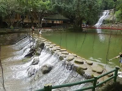 アオヴア(Ao Vua)の滝