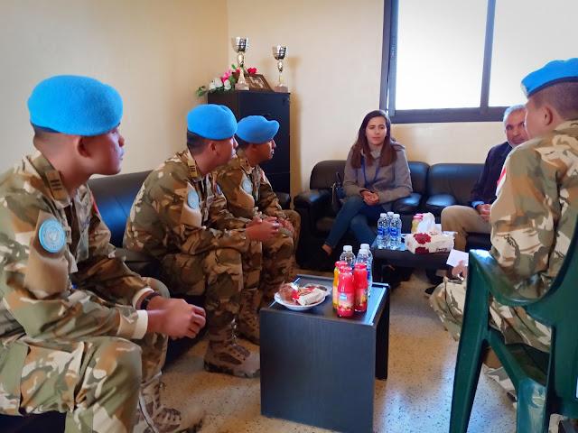 Serbuan Teritorial Awali Misi Perdamaian Pasukan Garuda XXIII-M di Lebanon