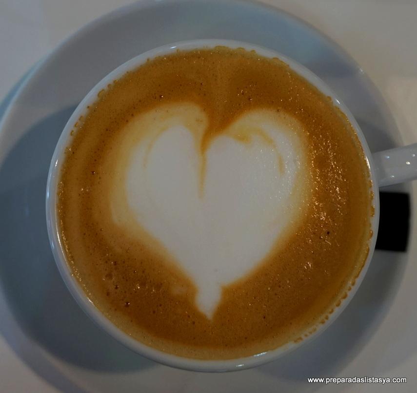 Café forma corazón