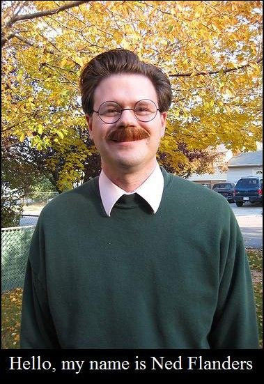 real life ned flanders