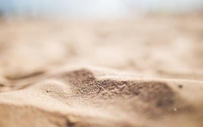 beach sand widescreen hd wallpaper