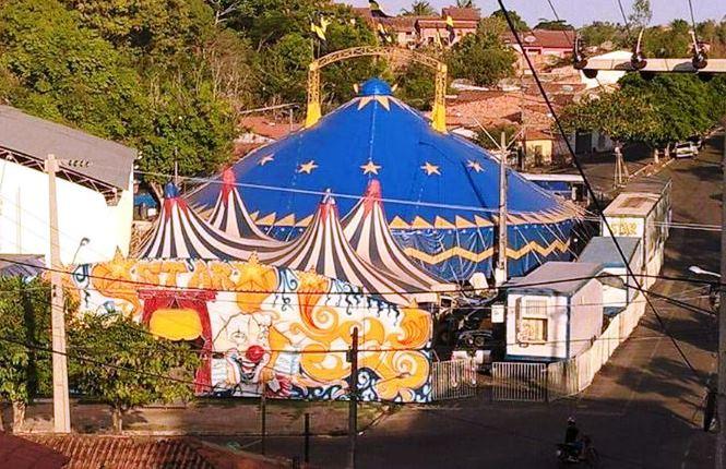 Alegria chegou! Star Circus e o palhaço Gasparzinho de volta a Chapadinha, estreia sexta feira (04)