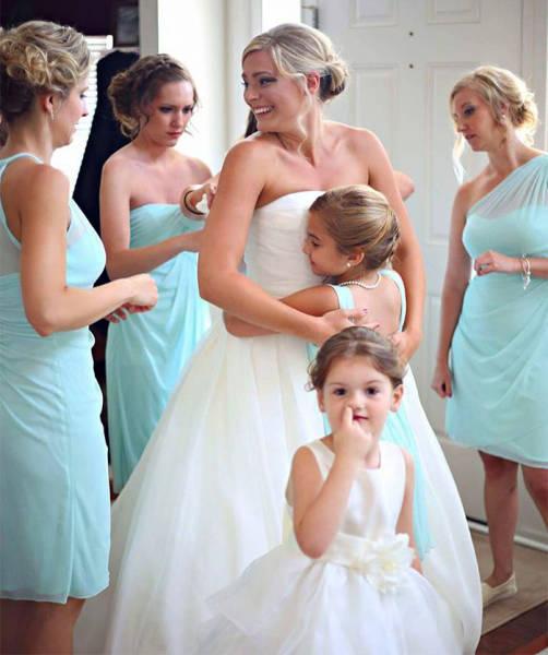Birbirinden İlginç Düğün Fotoğrafları