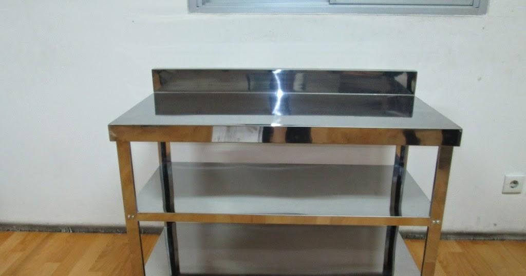 Meja stainless steel merk metalco meja dan kitchen sink for Jual kitchen set stainless steel