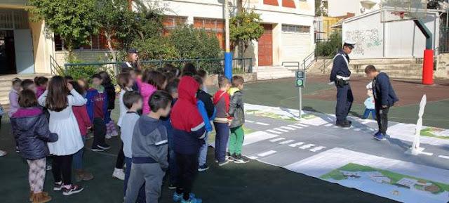 Ηγουμενίτσα: Εκπαιδευτικές παρουσιάσεις σε μαθητές για την Οδική Ασφάλεια