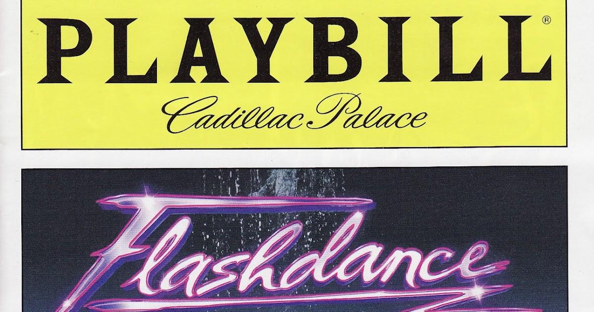 Lyric flashdance lyrics : Seth Saith: Flashdance, the Musical...What a Tepid Feeling ...