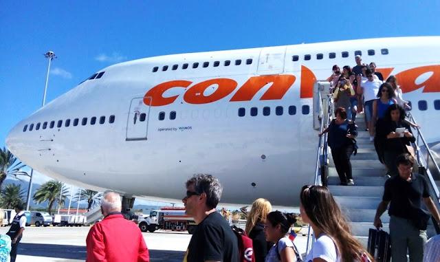 Más de 500 venezolanos retornan a su país por vuelo