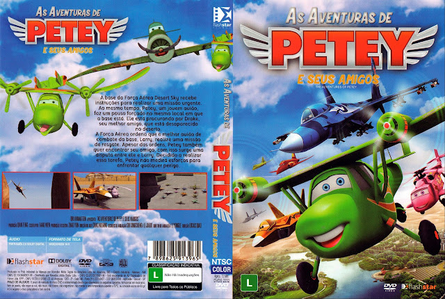 Capa DVD As Aventuras de Petey e Seus Amigos