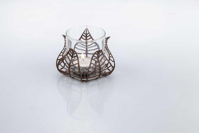 Bell Flower Tea Light Holder Arttdinox for Rs.2150
