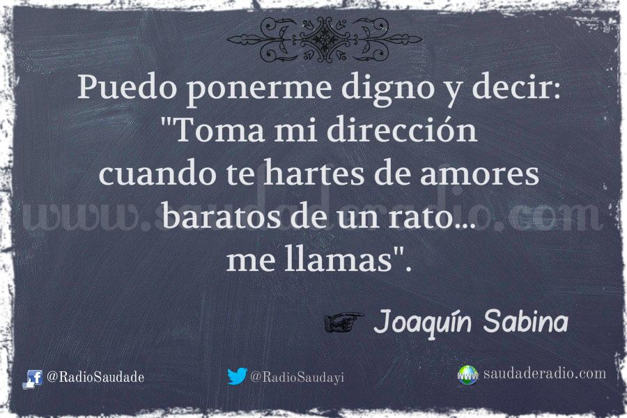 A La Orilla De La Chimenea Joaquín Sabina