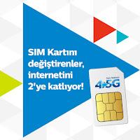 türk telekom bedava iki kat internet
