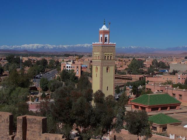 Mosquée à Ouarzazate