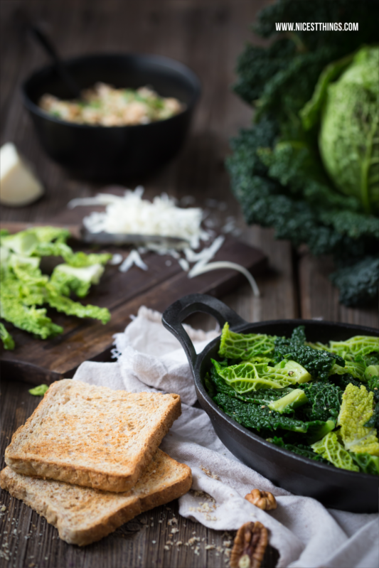 Savoy Cabbage Food Styling and Photography