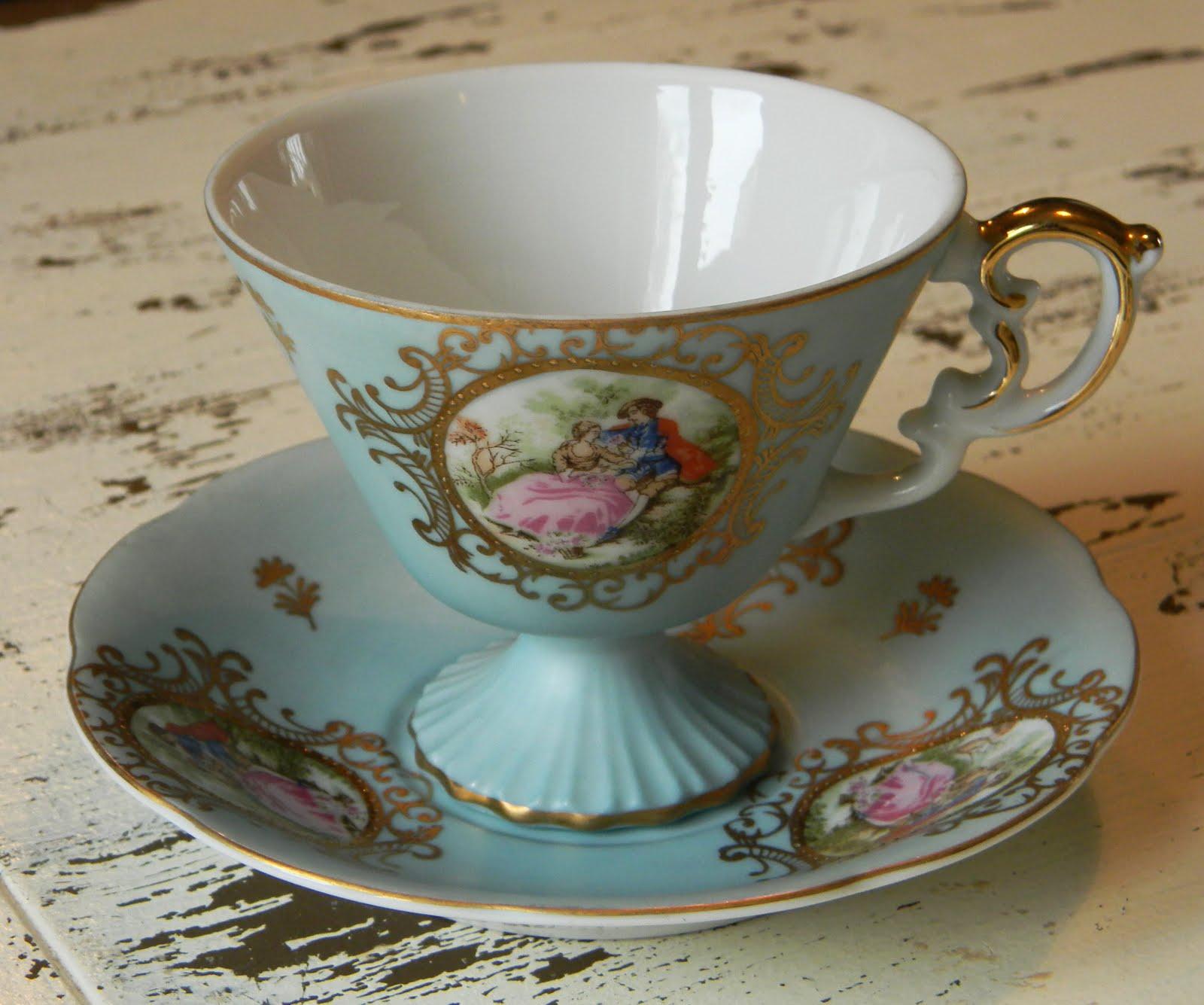 Tea Time is New For Me: Vintage tea cups...British tea or ...