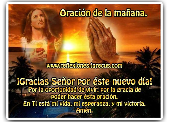 Oración de la mañana, Oración de buenos días, Oraciones, Oración de agradecimiento,