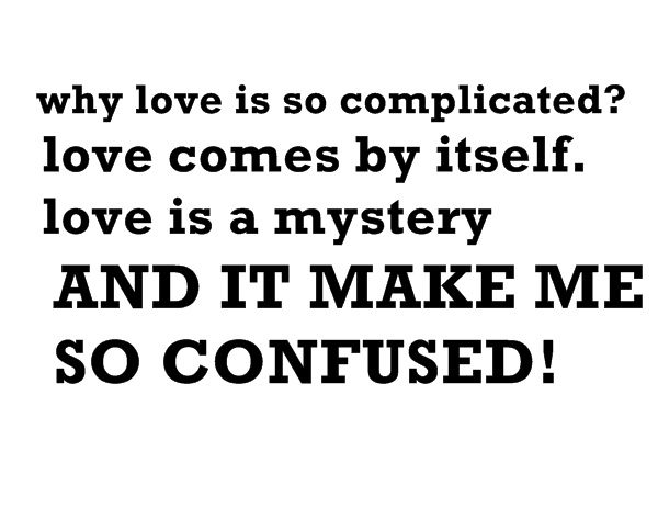 Once Upon A Time: why love is so complicated?