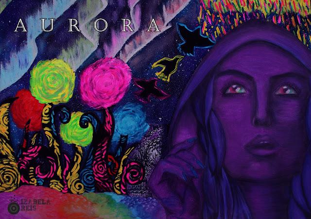 """""""A-sumir"""" é o single de estreia do novo projeto de Izabela Reis, o álbum AURORA que contém 6 faixas."""