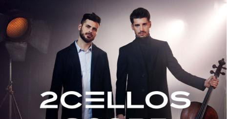 2Cellos: la cover di Moon River