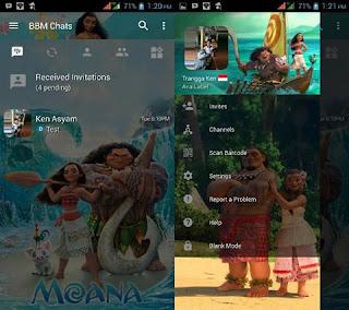 BBM Mod Moana V3.2.5.12 Apk