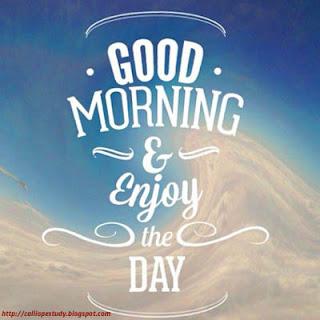 Gambar DP BBM Ucapan Selamat Pagi