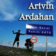 Bisikletle Artvin-Ardahan