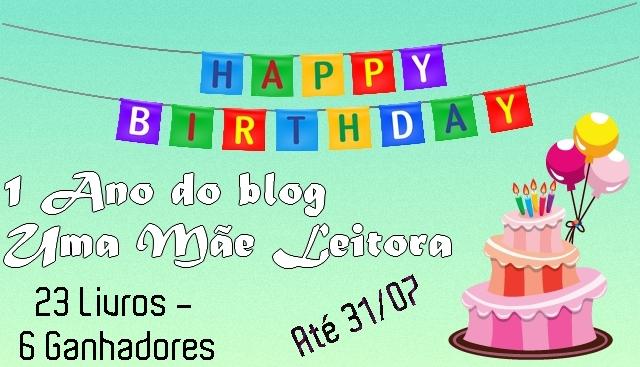[SORTEIO] Um ano do Blog Mãe Leitora