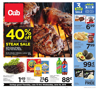 ⭐ Cub Foods Ad 6/19/19 or 6/20/19 ✅ Cub Foods Weekly Ad June 19 2019