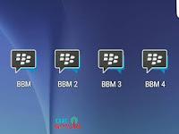 Download Multi BBM 1 + BBM 2 + BBM 3 + BBM 4 Support Video Call Base v3.3.9.119 APK Terbaru 2017