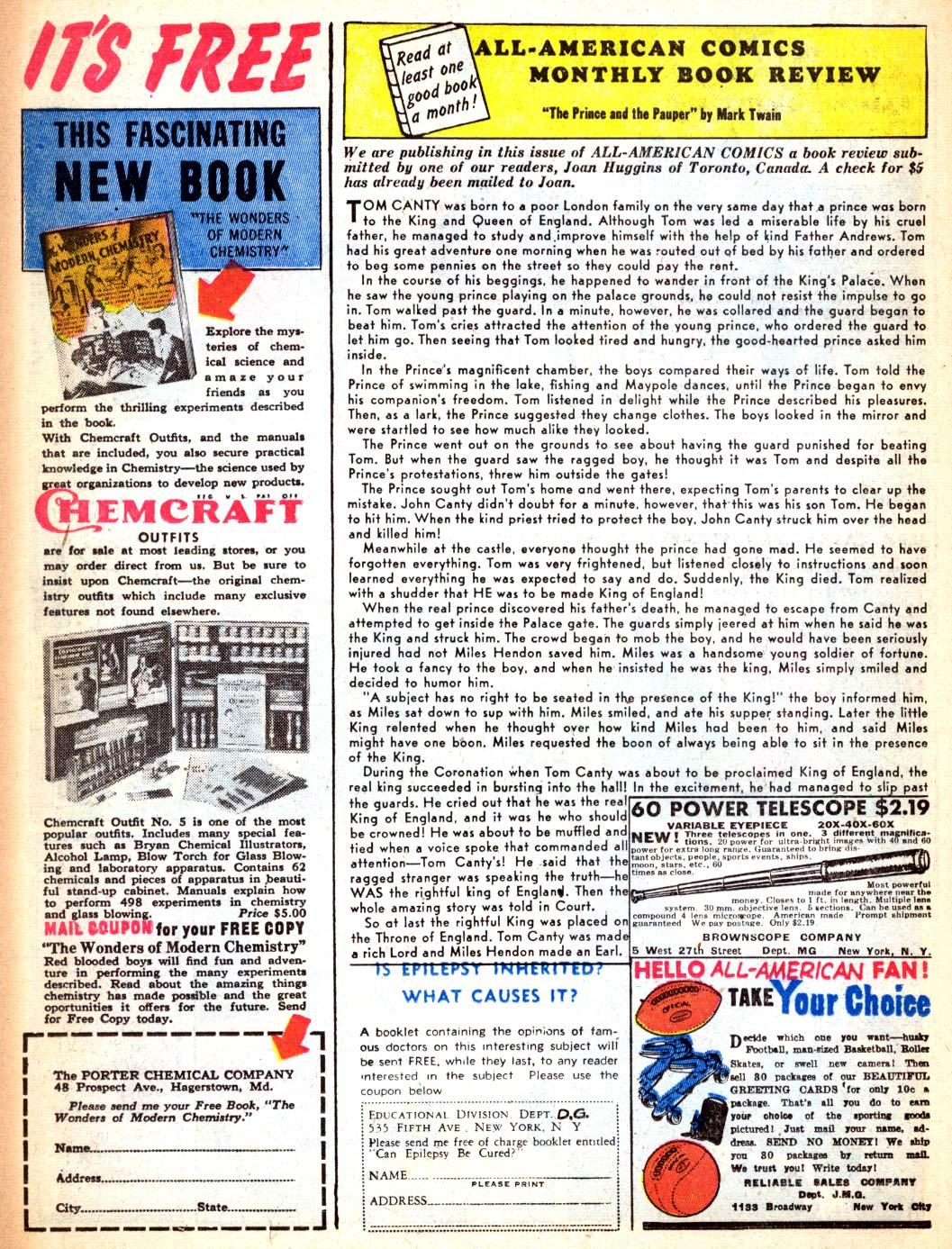 Read online All-American Comics (1939) comic -  Issue #22 - 46
