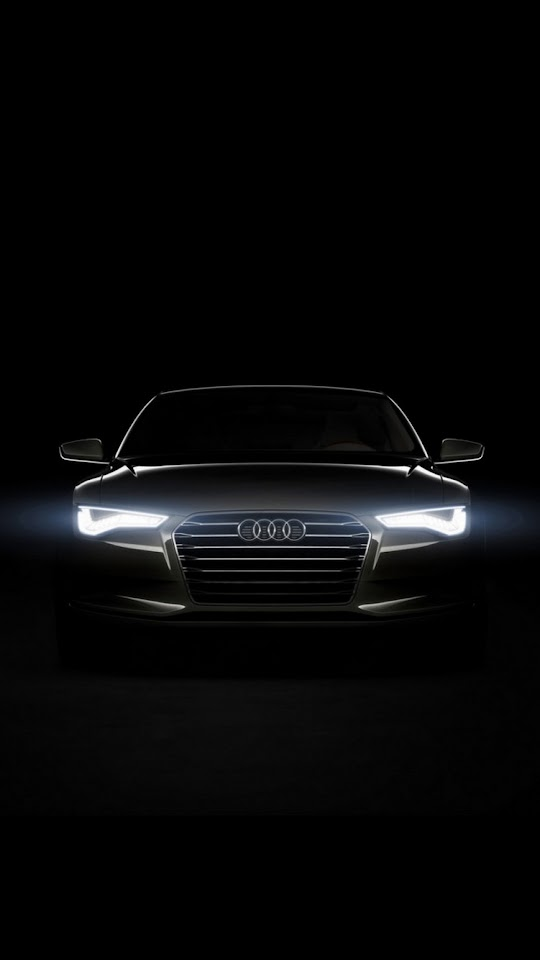 Audi Xenon Head Lights  Galaxy Note HD Wallpaper