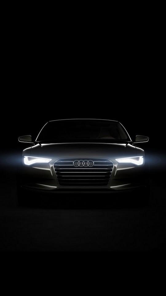Audi Xenon Head Lights  Galaxy Note HD Wallpaper
