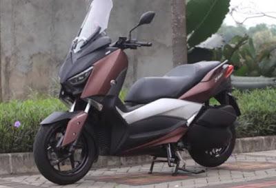 Spesifikasi dan Harga Yamaha X-MAX 250 2017