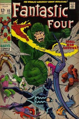 Fantastic Four #83, the Inhumans