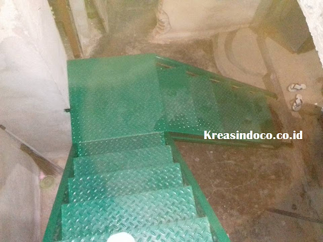 Jasa Pembuatan Tangga Trap Besi di Kalianda Lampung Selatan