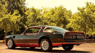 1978 Pontiac Macho Trans Am WS6 Turbo 400 Rear Left
